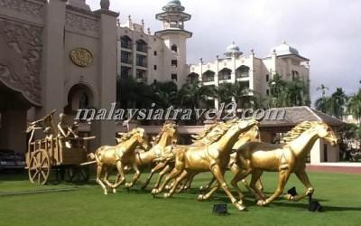 فندق الخيول الذهبية فى سيلانجور The Palace Of The Golden Hors64