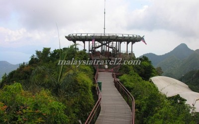 langkawi cable carتلفريك لنكاوي5