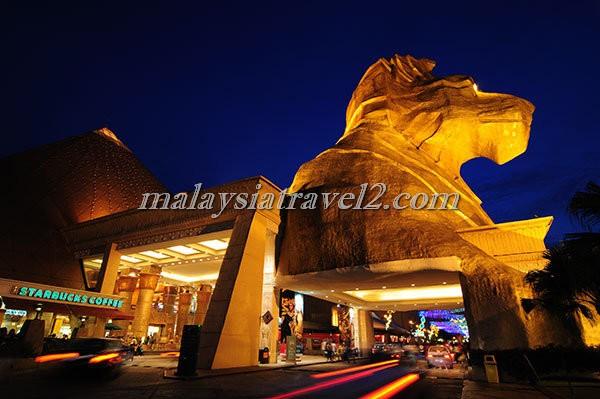 sunway pyramid shopping mall صور و تقرير مجمع صنواي بيراميد التجاري