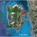 خريطة بينانج بالعربي | العرب المسافرون