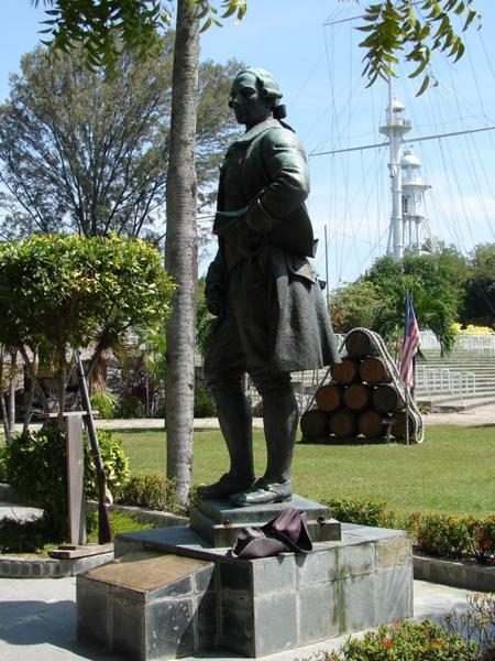 772583-Statue-of-Captain-Francis-Light-at-Fort-Cornwallis-1