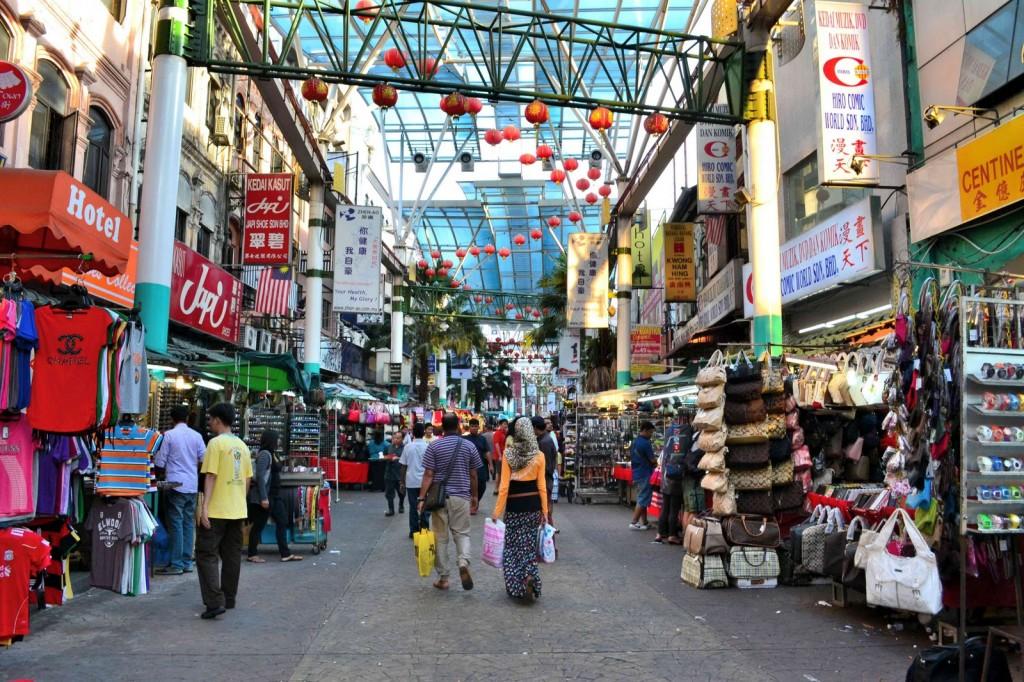 Chinatown In Malaysia الحي الصيني في كوالالمبور1