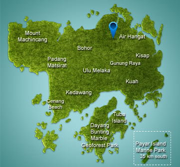 Langkawi_Air_Hangat_Village_map