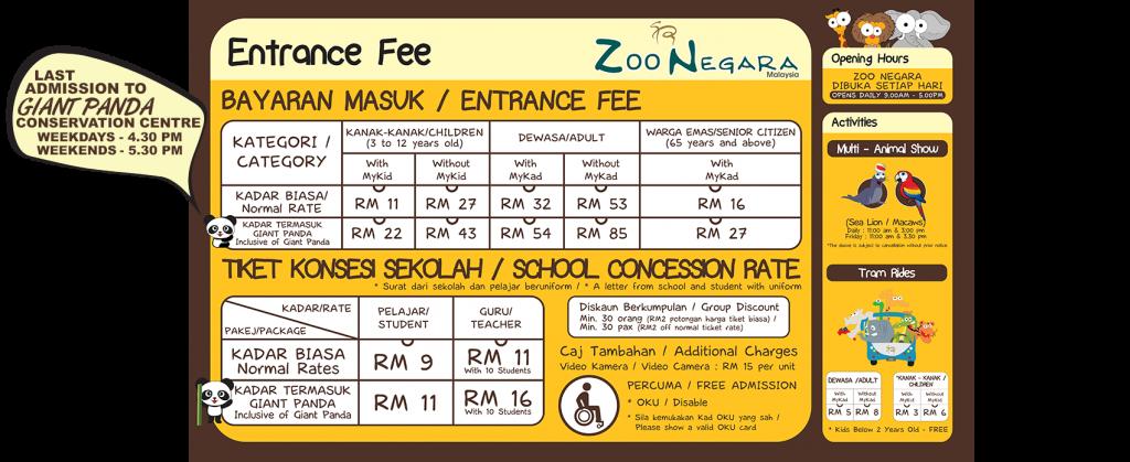 Zoo-Negara-Tickets