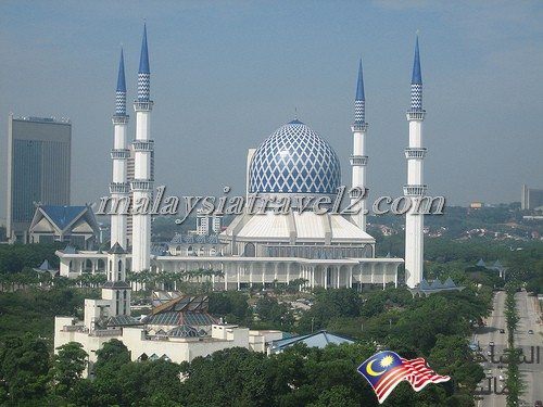 blue mosque malaysial11