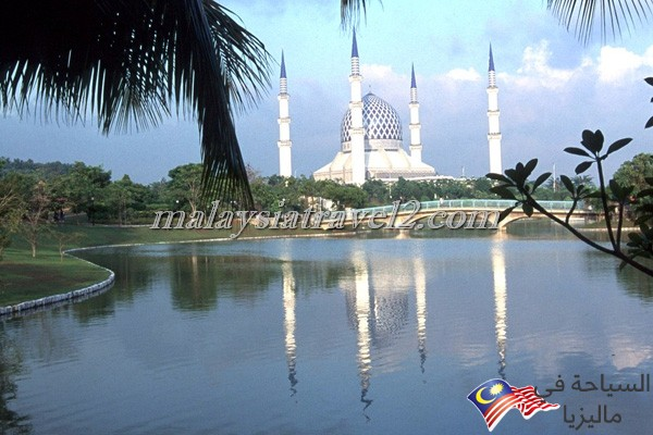 blue mosque malaysial12