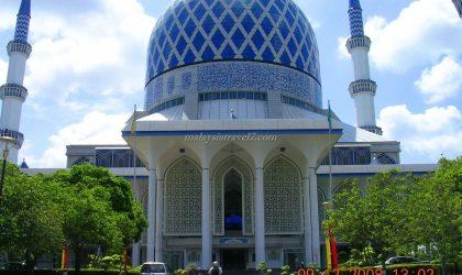 blue mosque malaysia المسجد الازرق سلطان صلاح الدين