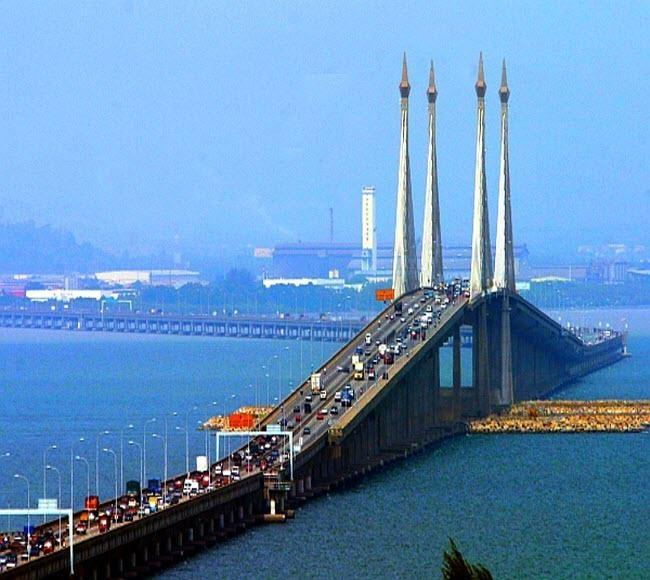 penang Bridgeجسر بينانج