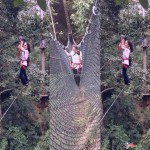 مغامرة سكاي تركس ماليزيا skytrex adventure