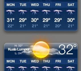 حالة الطقس في ماليزيا مباشر